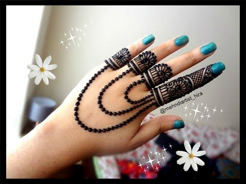 Beautiful Trendy Simple Easy Henna Mehndi Design For Hands