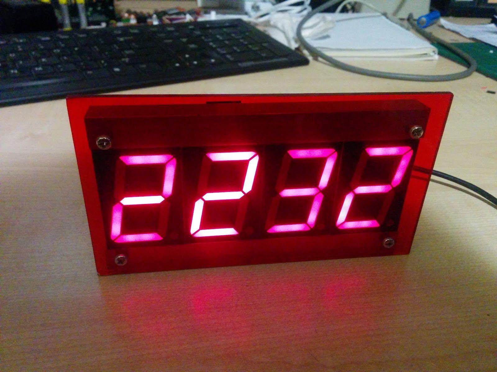 Buxtronix: ESP8266 based NTP Clock | ESP32 ESP8266 | Clock
