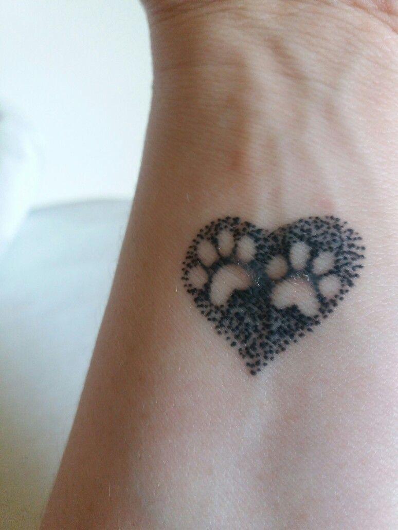 Resultado De Imagen De Tatuajes Patitas De Gato Tatuaje
