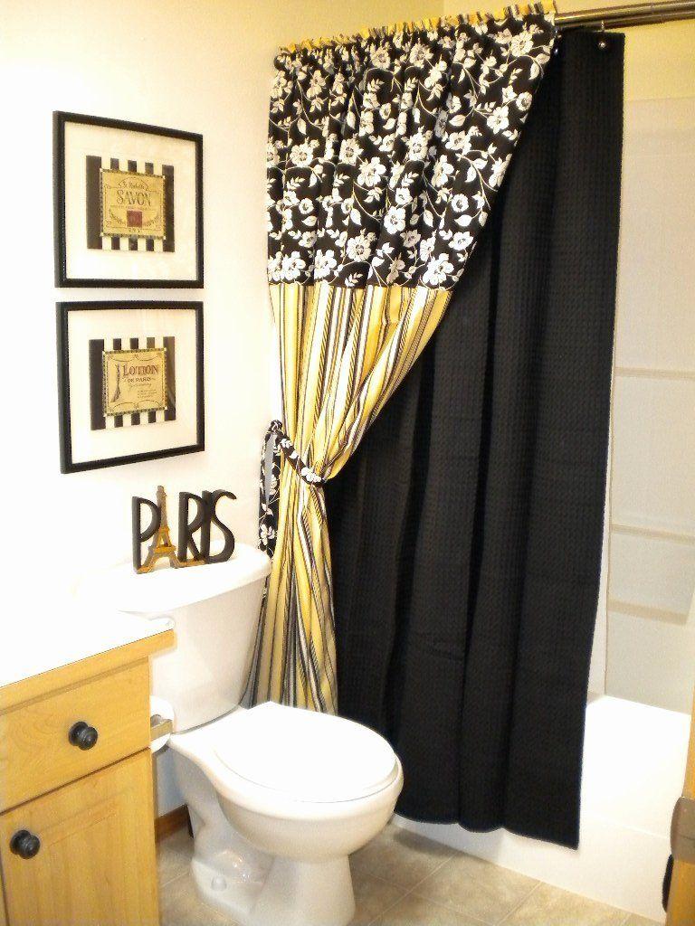 Black And Yellow Bathroom Decor Luxury Black And White Bathroom