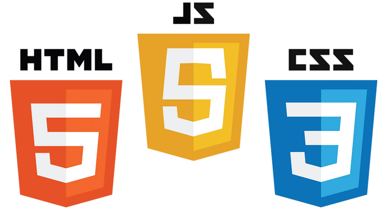 Html Css And Javascript Work Together Logo Sticker Css Javascript