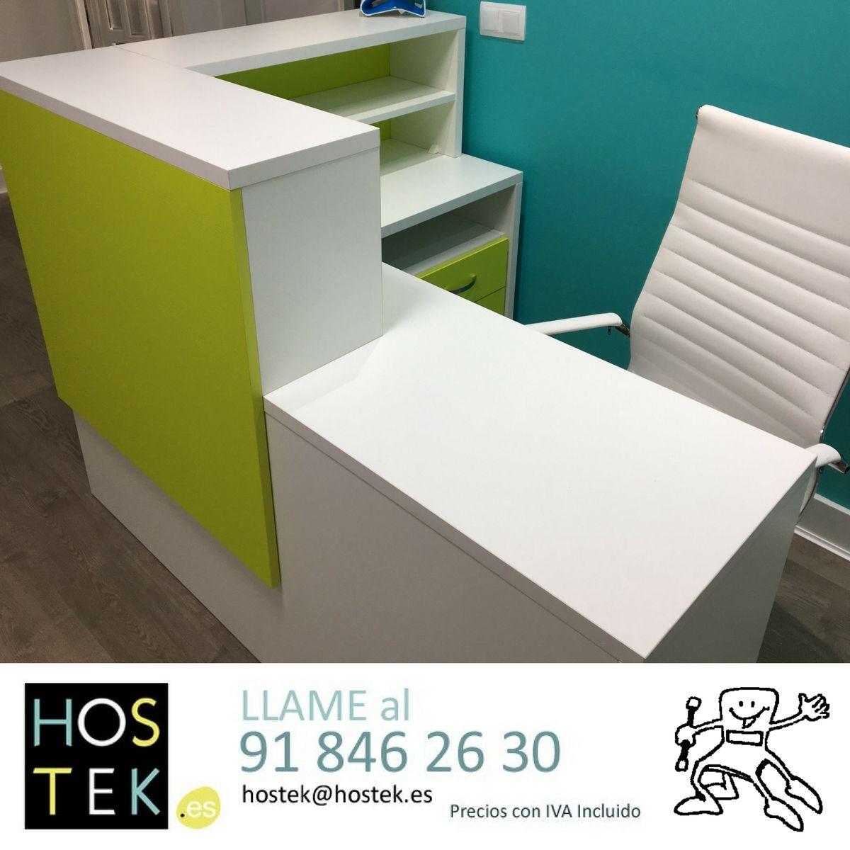 Mobiliario Para Una Cl Nica Dental Mostradores De Recepci N  # Muebles Odontologicos Colombia