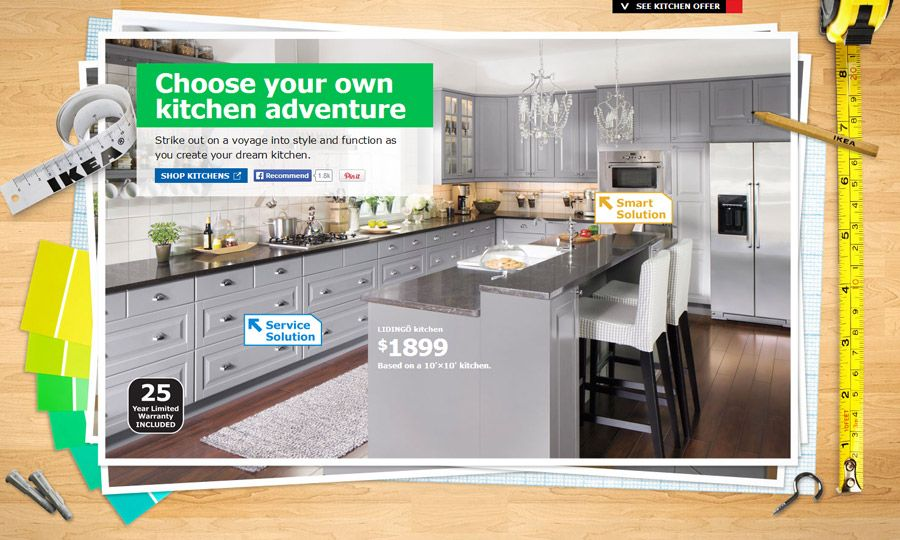 Choose Your Own Kitchen Adventure....with IKEA
