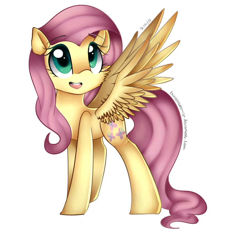 Fluttershy by BumblebeeMlp
