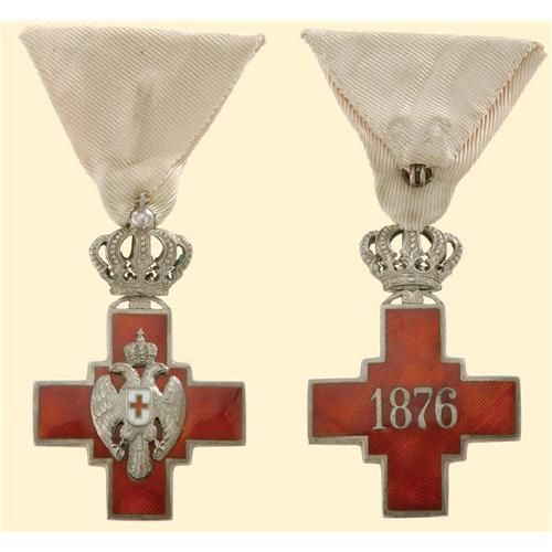 Red Cross, Serbia, 1876