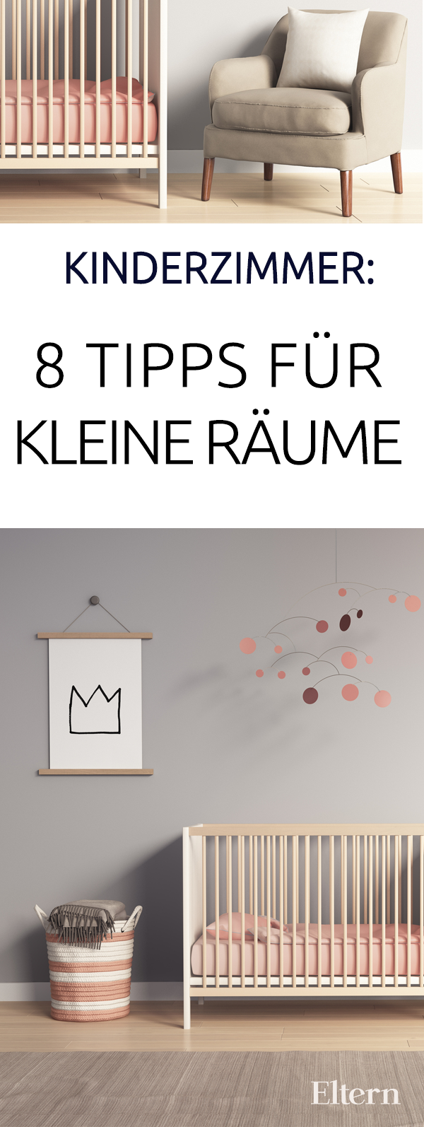 kinderzimmer acht tipps f r kleine r ume diy kinderzimmer pinterest crian as bela e papo. Black Bedroom Furniture Sets. Home Design Ideas