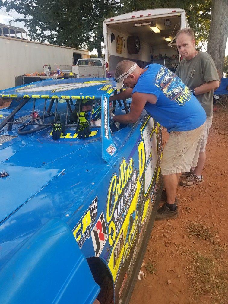 Drew Collins Dirt track race car driver