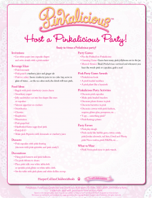 Print and Play Activity Pages ThinkPinkalicious.com Lots of party printables :)