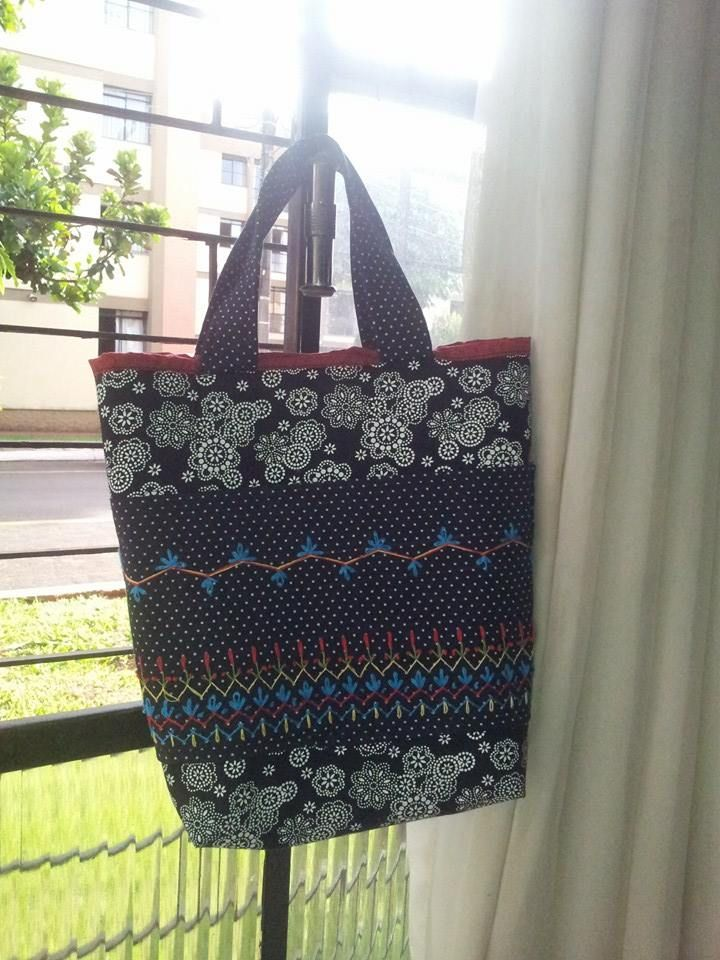 #fabricbag #embroiery