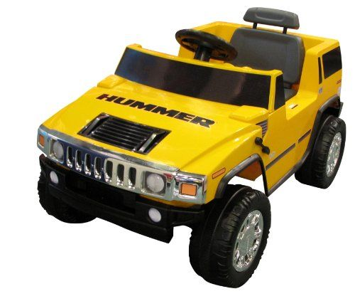 Back in stock National Products 6V Yellow Hummer H2 Battery Operated
