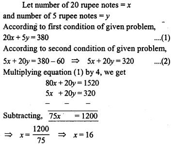 ML Aggarwal Class 9 Solutions for ICSE Maths Chapter 6