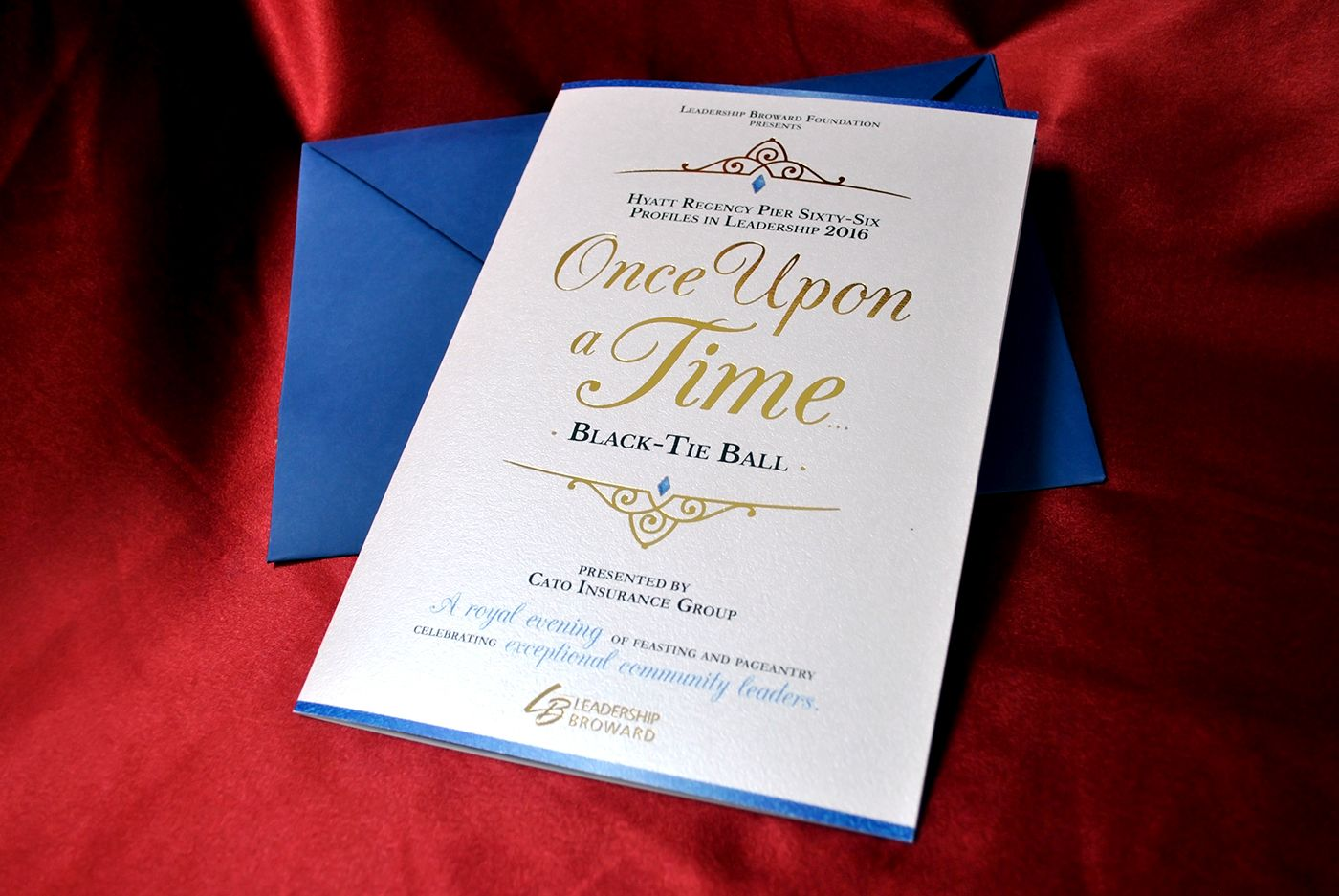 "Check out this @Behance project: ""Once Upon a Time Gala Invitation ..."