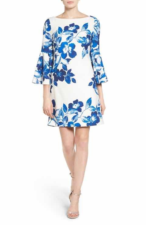 71b3d52f7613f Eliza J Floral Shift Dress (Regular & Petite) | Spring 2018 ...