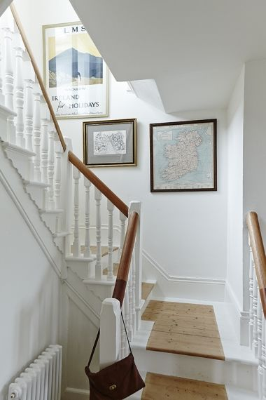 Northern Delights Image Magazine Painted Staircases Victorian | Stripping Stairs Back To Wood | Paint Remover | Stair Risers | Stair Treads | Steps | Hardwood