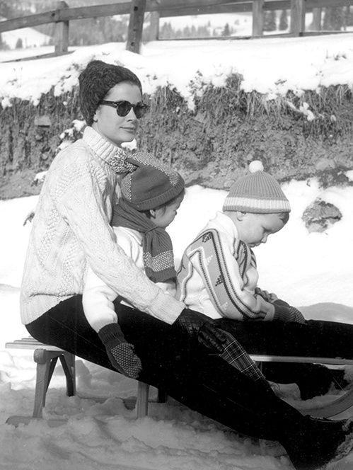 Le style des icones au ski, Kate Moss, Brigitte Bardot, Grace Kelly,