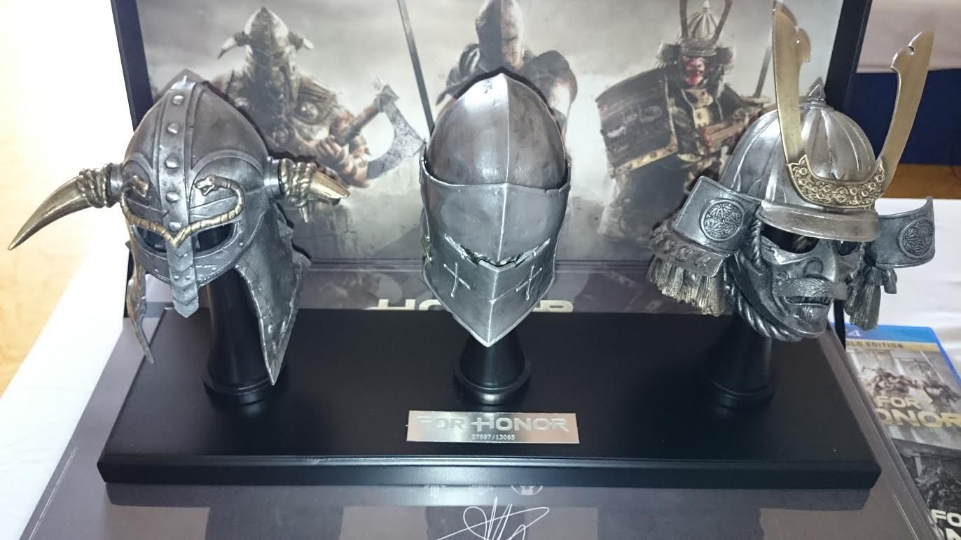 """special edition """"For Honor"""" already home"""