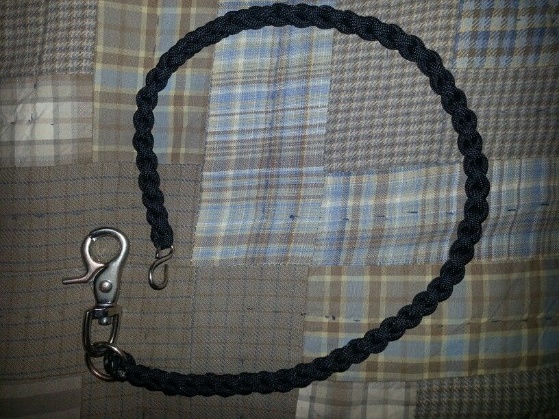 Paracord wallet chain