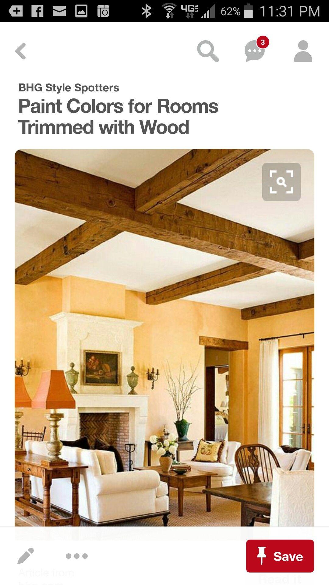 Pin by Jennifer Glenn-Majuta on Wood beam/ceiling ideas | Pinterest ...