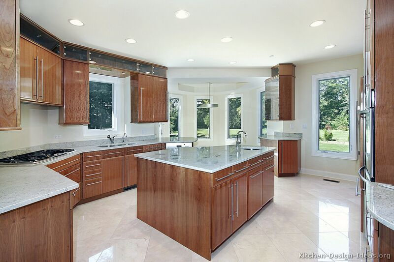 Modern Medium Wood Kitchen Cabinets #38 Kitchendesignideas Delectable Modern Wooden Kitchen Designs Inspiration Design