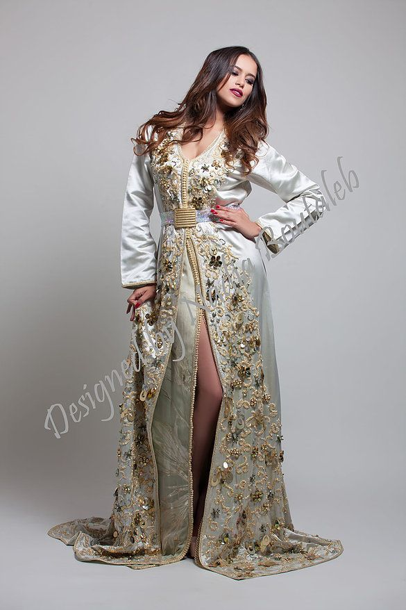 b09e0347d8 Nadia Boutaleb Caftan Haute Couture Casablanca | caftaan | Kaftan ...