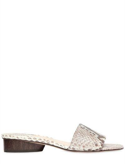 cheap sast Paul Andrew Python Slide Sandals outlet under $60 cheap sale deals outlet browse discount classic 6UNpn72yA