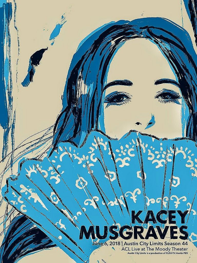 Poster art for Kacey Musgraves.