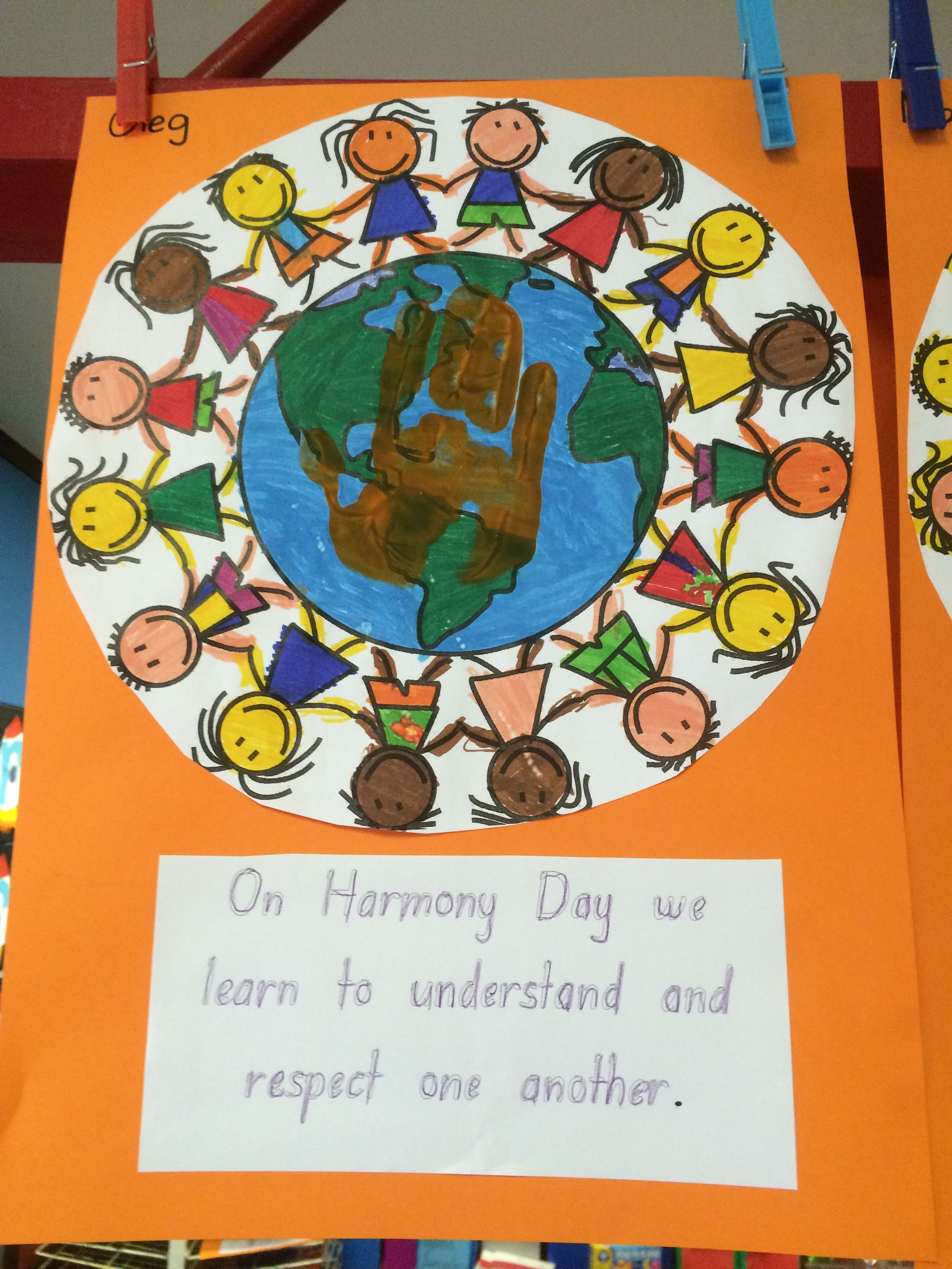 Pin By Cassie Bonney On Harmony Day