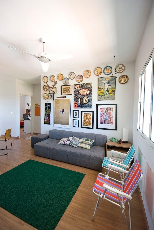 Salas De Estar Sugest Es De Decora O Interiors -> Sala De Estar Decorada Tok Stok