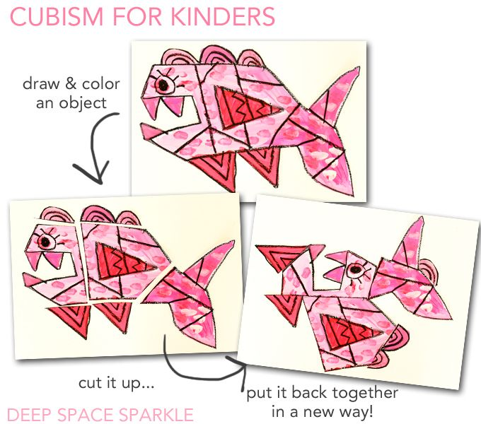 Cool Way To Teach Cubism Young Children