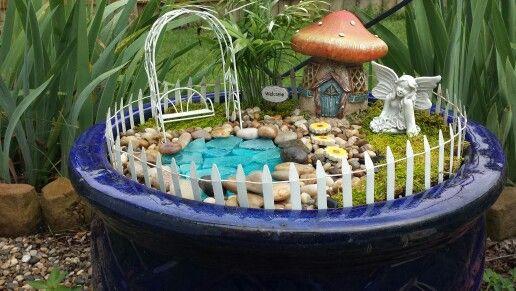 My fairy garden! :)