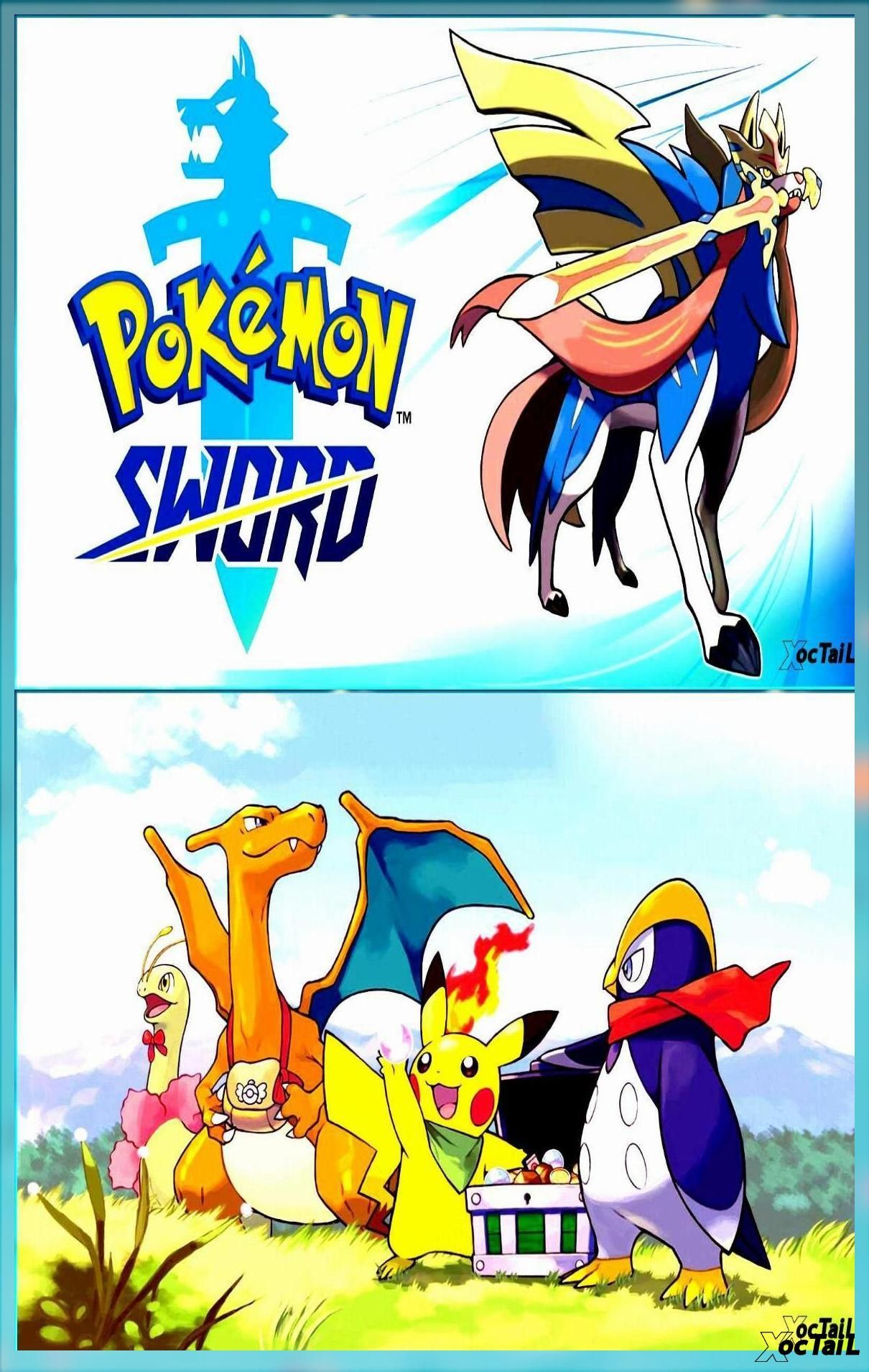 Pokémon Sword Nintendo Switch Games Nintendo