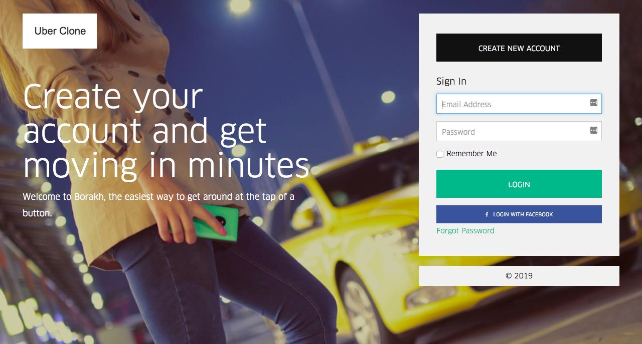 Uber Clone Codecanyon Android