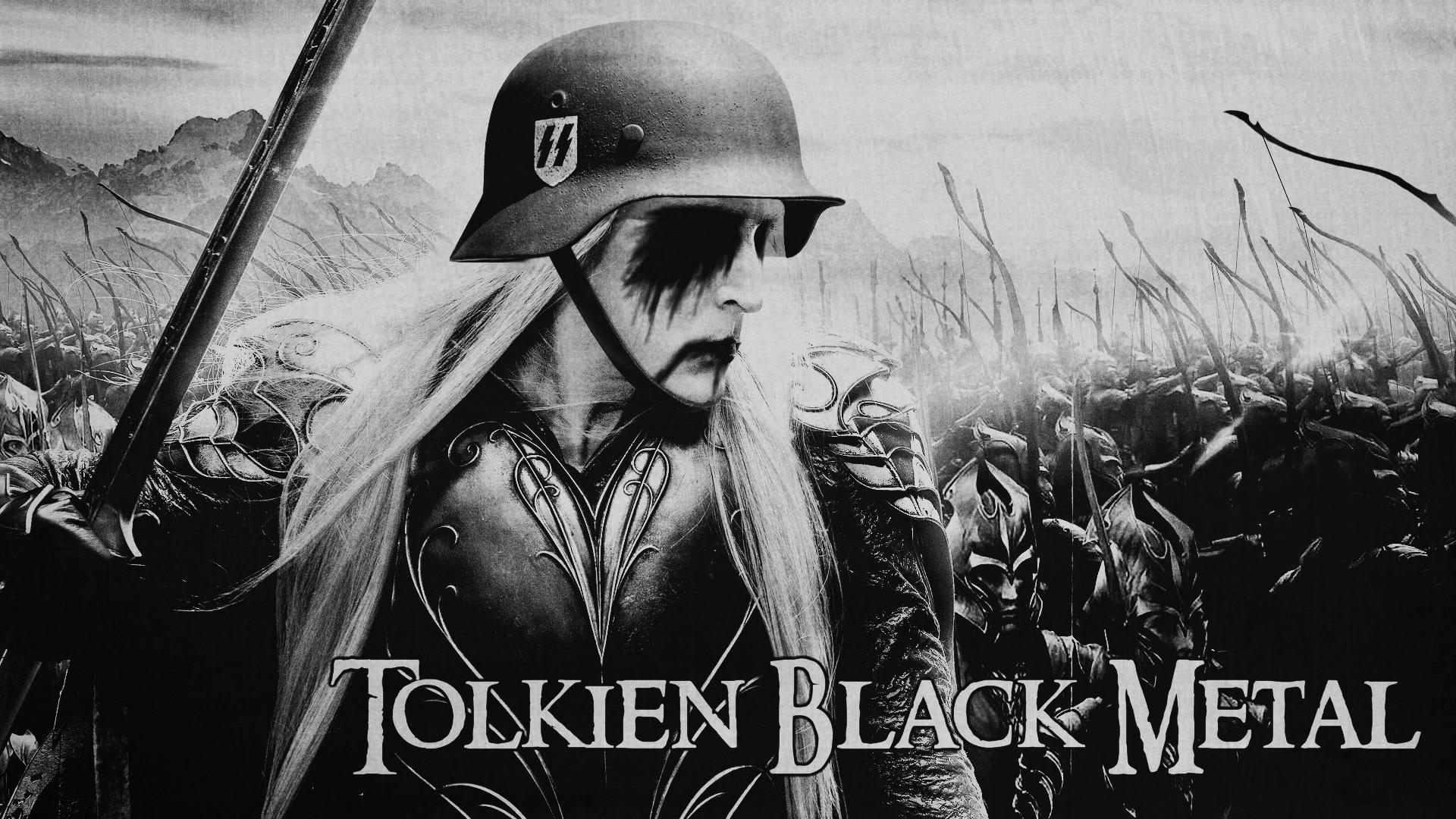 Tolkien Black Metal HD Wallpaper 1920x180
