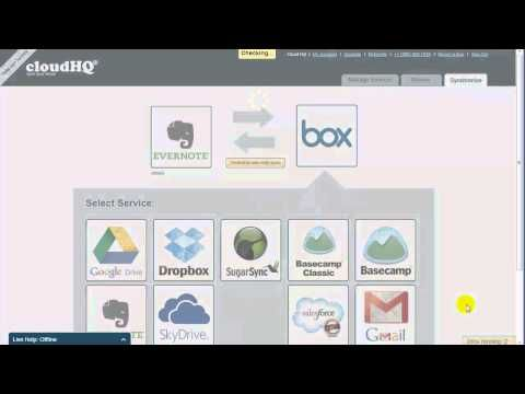 Sync Evernote and Box