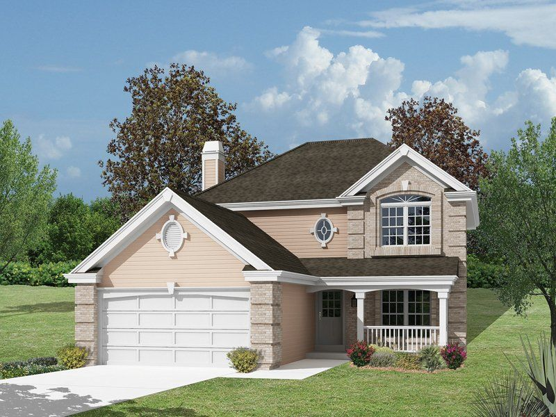 Traditional House Plan 4 Bedrm 2046 Sq