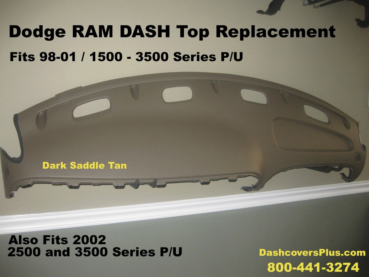 medium resolution of replace that cracked or missing 98 02 dodge ram dash board call danny 800