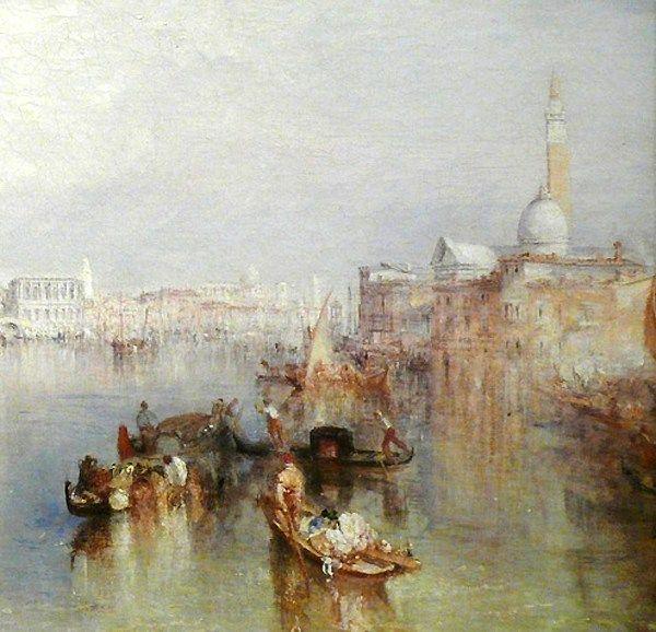 J M W Turner Le Magicien Anglais De L Aquarelle Venise En Art