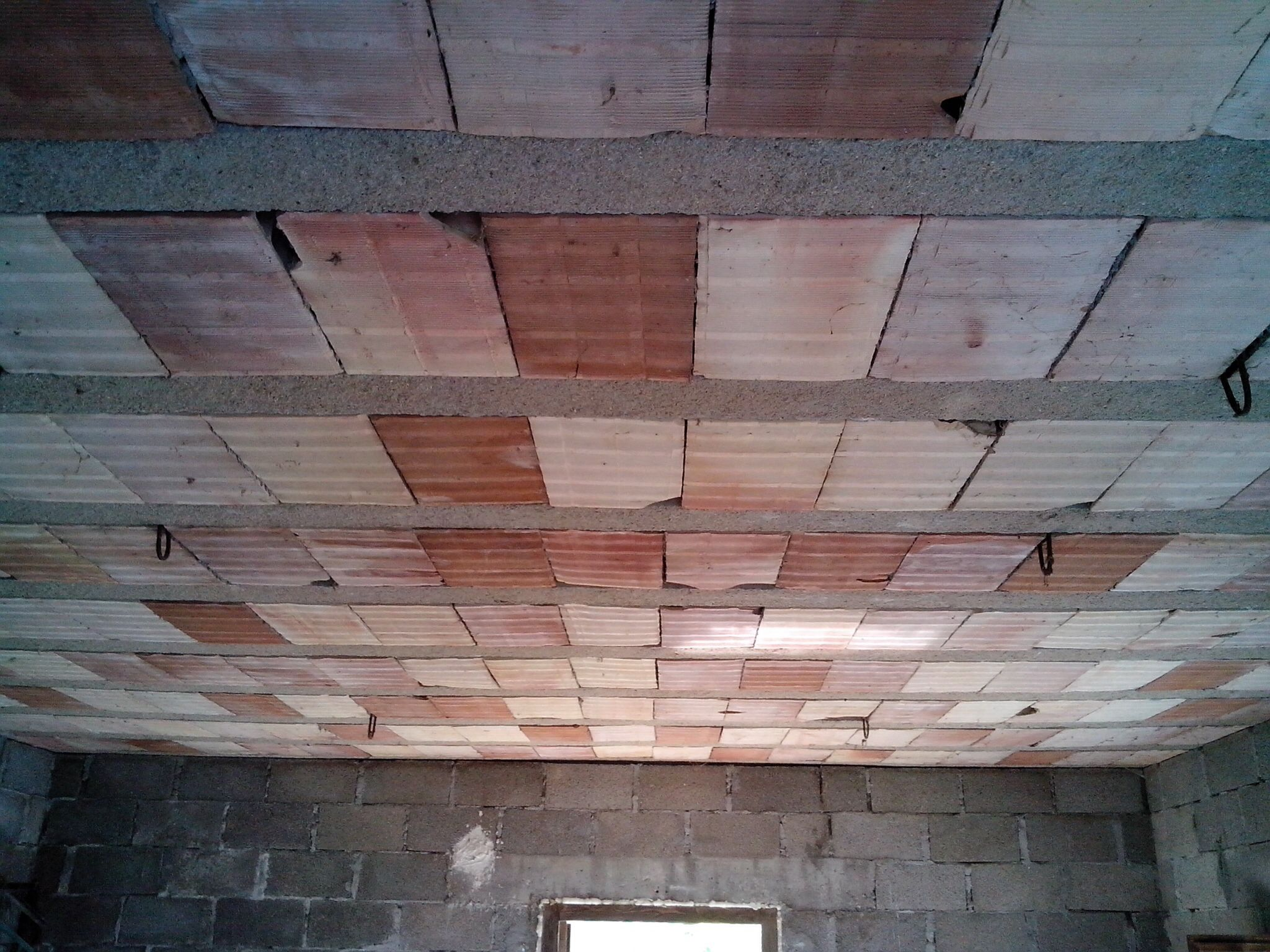 The Ceiling Made Of Terracotta Building Blocks And Concrete Beams Beams Building Blocks Terracotta