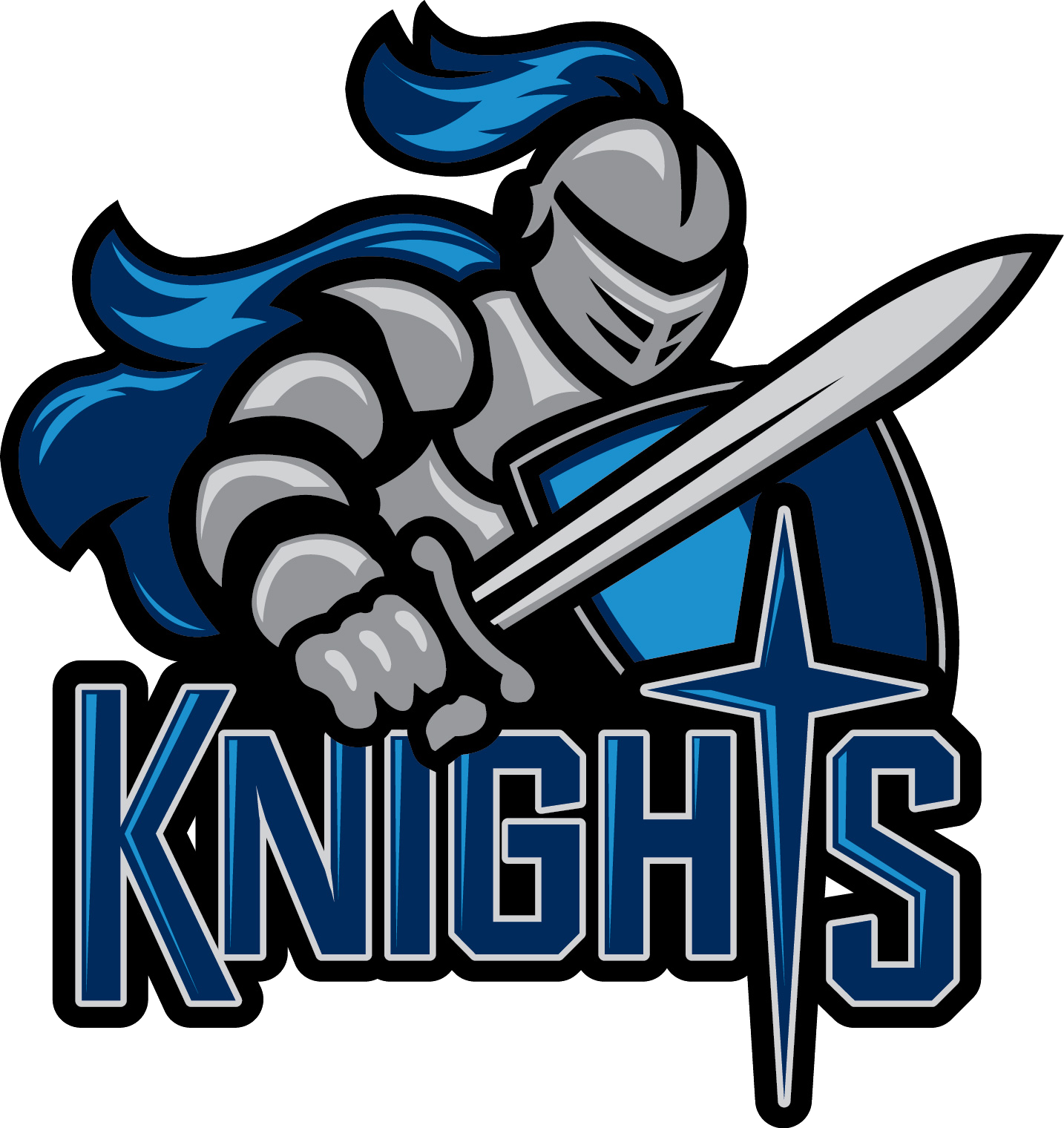 kinghts logo sports siouxlandmatters man cavesports