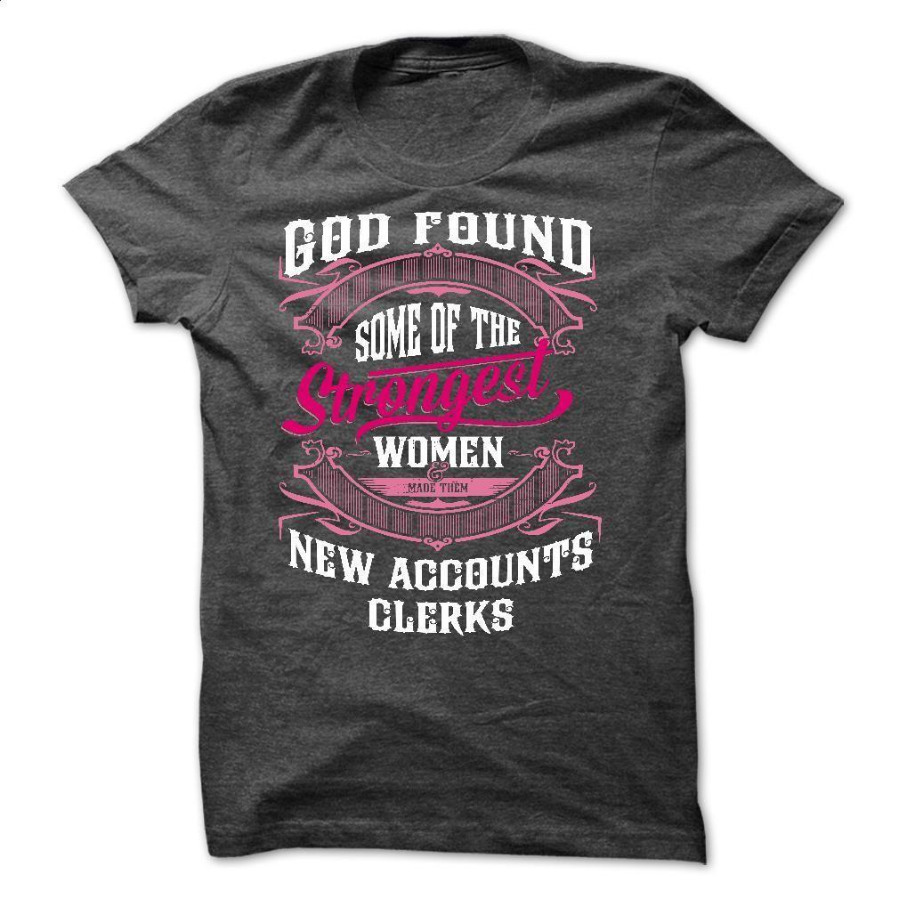 i am NEW ACCOUNTS CLERKS T Shirt, Hoodie, Sweatshirts - t shirt design #Tshirt #fashion