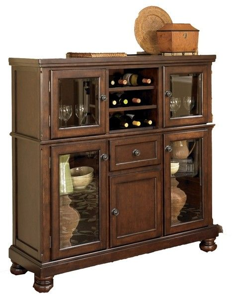 Porter Server With Storage Cabinet By Ashley Furniture Dining Room Server Ashley Furniture Home Storage Cabinets