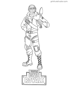 Fortnite Coloring Pages Print And Color Com Coloring Pages Fortnite Color
