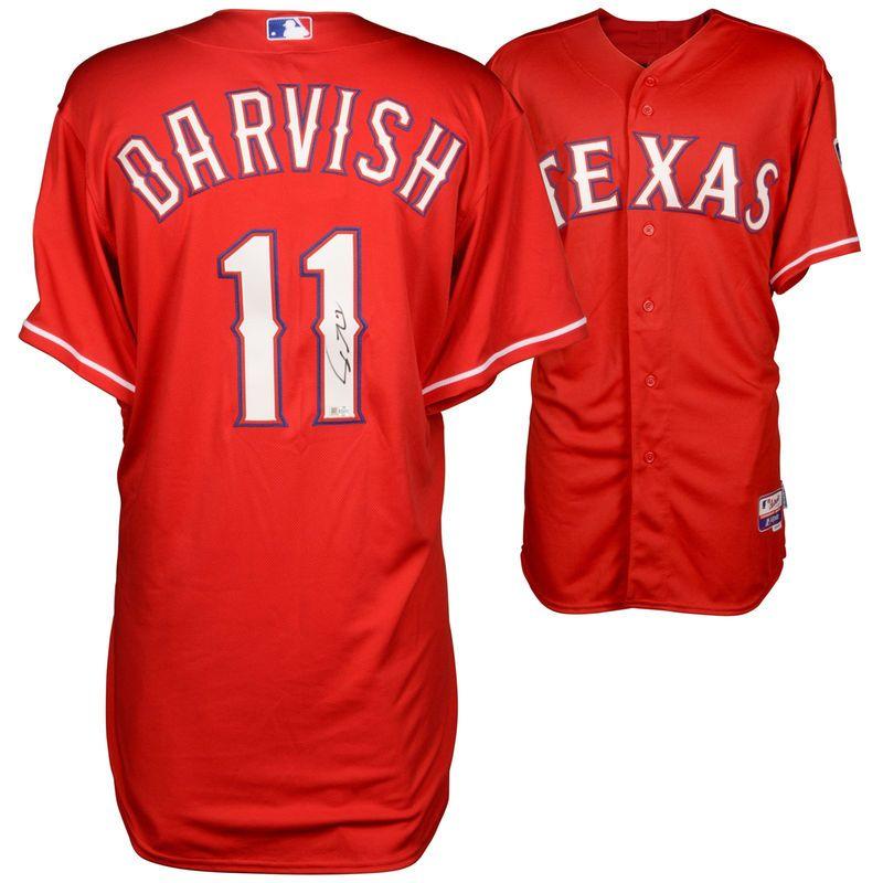 wholesale dealer efcba 6ee38 Yu Darvish Texas Rangers Fanatics Authentic Autographed ...