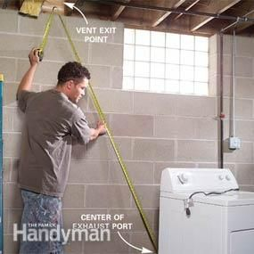 Dryer Vents How To Hook Up And Install Dryer Vents Dryer Vent Dryer Vent Installation Laundry Room Diy