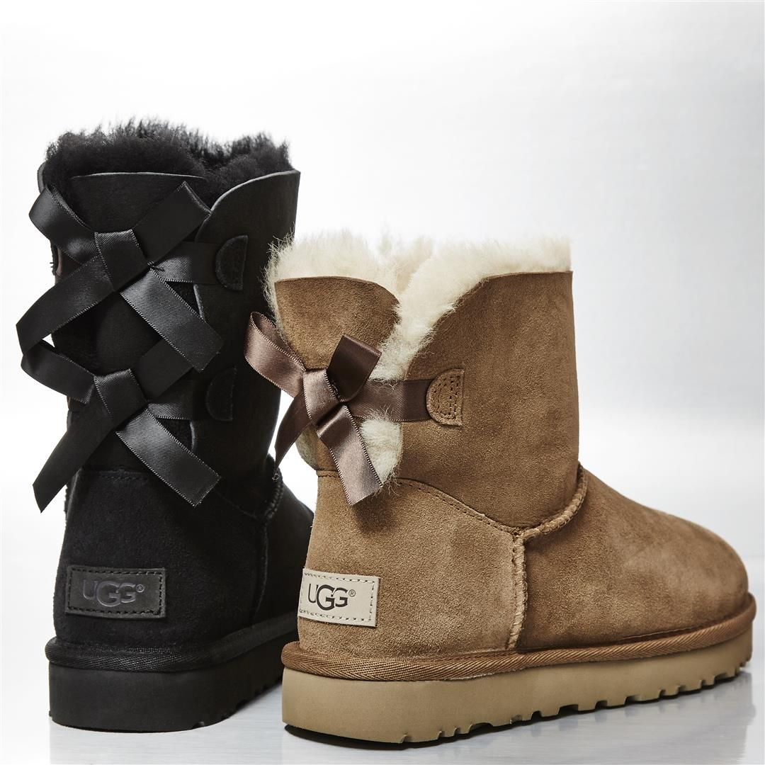 e1679422b3b 1 bow or 2?...@uggeurope 💝 These are included in our 20% off! #Ugg ...