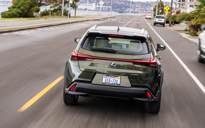 Lexus UX 200 2020 Sport utility vehicle, Four wheel drive
