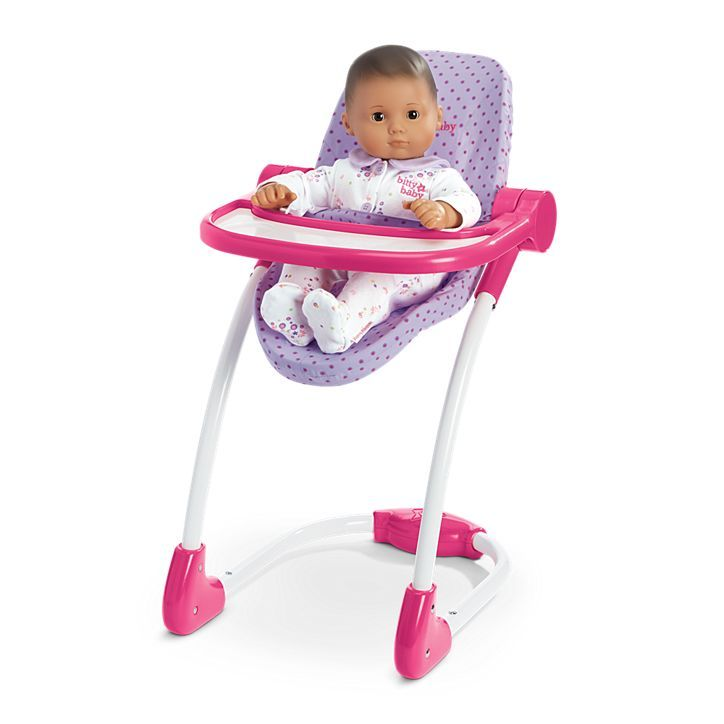 american girl doll high chair swing chairs for outdoors bitty s emmie toys pinterest baby dolls