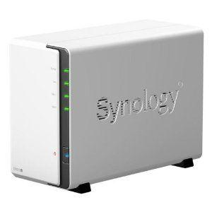 Synology Ds212j 2 Bay Nas Enclosure Network Attached Storage Storage Nas Network Attached Storage