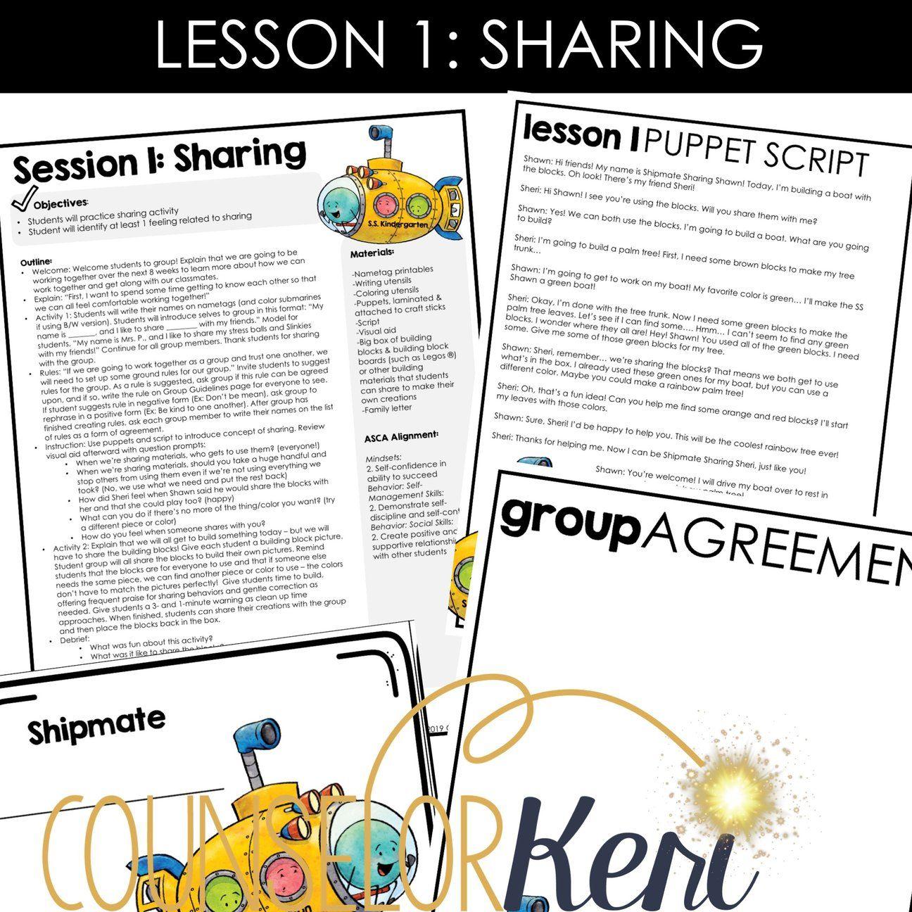 Kindergarten Social Skills Activities Social Skills Group