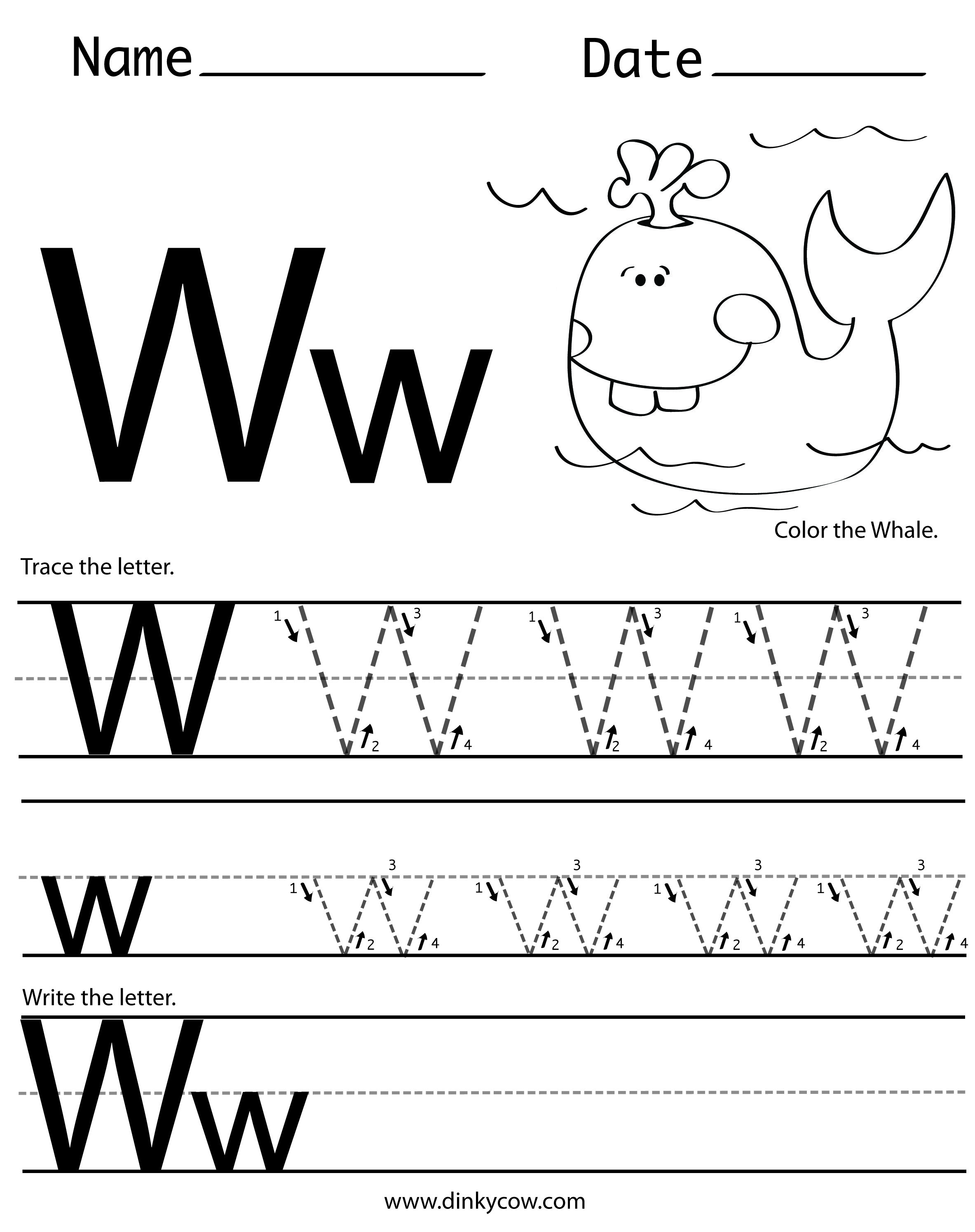 W free handwriting worksheet print g pixels